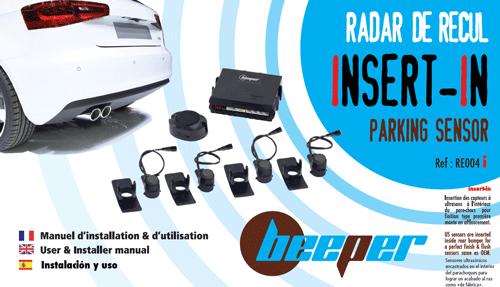 Manuel RE004i • Radar de recul • INSERT IN PARKING SENSOR